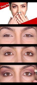 best eye makeup tips for deep set eyes
