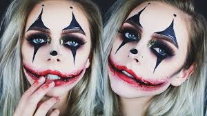 creepy glamorous clown makeup