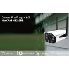 Camera IP wifi giám sát ngoài trời NetCAM NT2.0DL 1080P