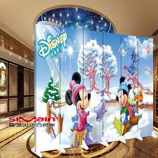 Mickey Mouse Cheap High Quality Three Panels Decorative Folding Screen Room Divider For Kids Bedroom Screen Room Divider Folding Screen Room Dividerroom Divider Aliexpress