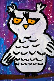 """From the 52nd Young Arkansas Artists exhibition: Maddison Ratcliff from Ida  Burns Elementary (1st Grade) - """"Snowy … 