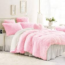 ultra soft plush faux fur bedding set