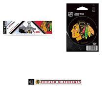 Chicago Blackhawks Official Nhl Bumper Sticker Vinyl Car Decalperfect Cut Car Decal Bundle 0 Items Walmart Com Walmart Com