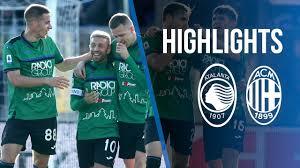 17ª Serie A TIM Atalanta-Milan 5-0