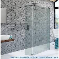 kudos shower screen deflector panels