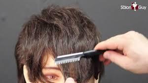 emo scene haircut you