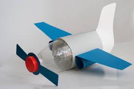 Jak zrobić samolot DIY z butelki. Instrukcja krok po kroku.
