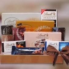 lindt chocolate gift set unique gift