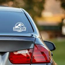 Jurassic Park Decal For Car Phone Laptops And More Etsy