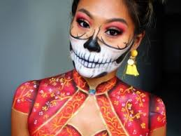 creative and halloween makeup artist