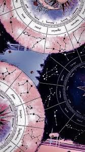 black zodiac sign wallpaper yw
