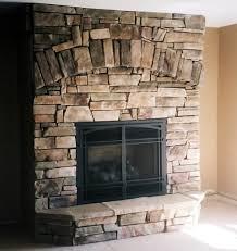 fireplaces stone masonry and siding