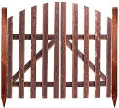 Qbzs Yj Fence Door Fence Panel Wood Vertical Garden Patio Border Palisade Wooden Garden Gate Sunshine Style Picket Garden Gate Wooden Picket Fence Gate Size L150cm 1 5cm 150cm Amazon Co Uk Kitchen Home