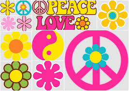 Flores Y Simbolos Del Clipart Para Fiesta Hippy Oh My Fiesta