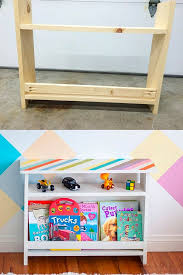 Easy Diy Kids Bedside Table With Book Storage Plans Anika S Diy Life Woodworking Projects For Kids Diy Kids Room Girls Kids Rooms Diy