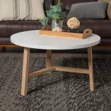 white marble light oak coffee tables