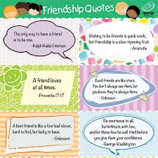 favorite friendship quotes for kids printable