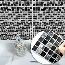 Funlife Self Adhesive Mosaic Tile Wall Sticker Kitchen Bathroom Decor Vinyl Wall Stickers Waterproof Peel Stick Pvc Tiles Panel Wall Sticker Tile Stickersmosaic Tile Stickers Aliexpress