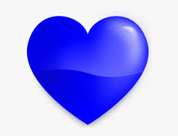 28 collection of blue heart clipart png