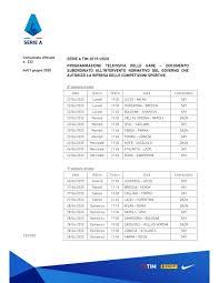 Serie A, si riparte con Torino-Parma il 20 giugno: il calendario ...