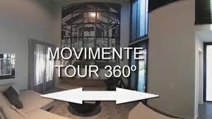tour 360º loft decorado veduta blu