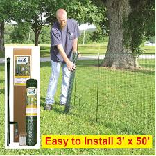 Amazon Com Temporary Fencing Kit 50 X 36 No Tools Quick And Easy To Install No Slipping Or Sagging Reusable Garden Outdoor