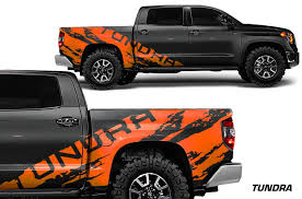 Toyota Tundra 2014 2017 Crew Cab Custom Vinyl Decal Kit Tundra Shred Factory Crafts