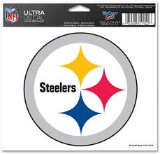 Amazon Com Pittsburgh Steelers 5 X 6 Window Decal Kitchen Dining