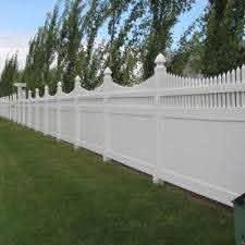 Weatherables Harrington 6 Ft X 8 Ft White Vinyl Privacy Fence Panel Pwpr Ots 6x8 The Home Depot Vinyl Privacy Fence Privacy Fence Designs Fence Design