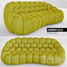 3d models sofa roche bobois bubble sofa
