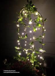using fairy lights