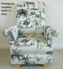 Prestigious Longleat Safari Fabric Child S Chair Etsy