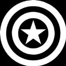Vinyl Decal Of Captain America S Shield Etsy