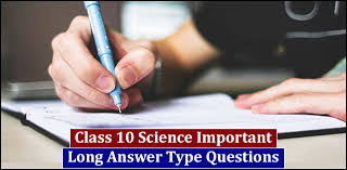cbse class 10 important long answer