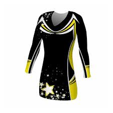 vine long sleeve cheer dress halbro