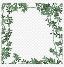 green flower frame png transpa png