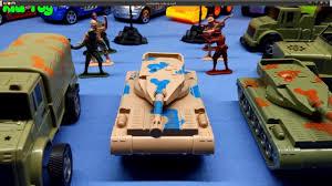 Xe tăng quân đội tấn công đồ chơi Battle tank toy military 2 - Kid ...