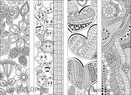 Set Van 8 Kleuren Bladwijzers Met Abstracte Patronen Kleuren Etsy