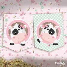 Kit Imprimible Vaca Lola Personalizable