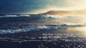 kata kata tentang pantai dan laut yang menyejukkan hati