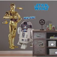 Rmk1592gm Star Wars Classic R2 D2 Giant Wall Decal