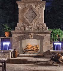 outdoor gas fireplace ventless