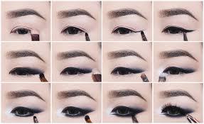 no liner smokey cat eye makeup
