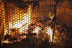glass vs wire mesh firescreen