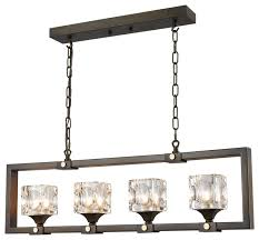 chandeliers large glass pendant