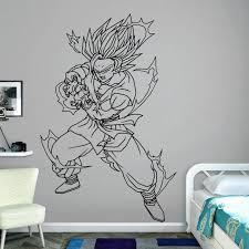 Son Goku Dragon Ball Z Wall Decal Kuarki Lifestyle Solutions