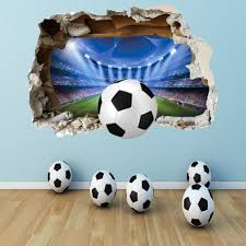 Design Of Football Wall Decals In 2020 Boys Bedrooms Football Wall Art Decal Wall Art