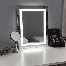 keller led lighted makeup mirror in