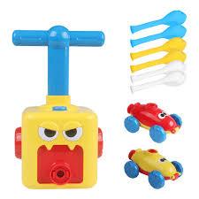Đồ chơi xe hơi chạy bằng bong bóng, không cần dùng pin cho bé trai, bé gái  mọi lứa tuổi