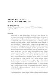 pdf islamic education in a pluralistic society